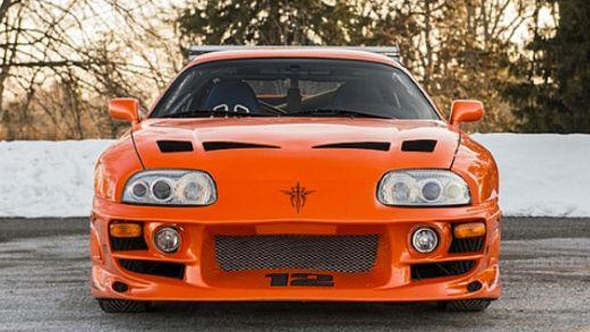 Toyota Supra From The Fast And The Furious Paul Walker S Toyota Supra From Fast And Furious Fetches 185 000