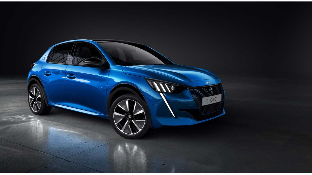 E Full In Electric Peugeot E 208 In Detail Specs Images Videos