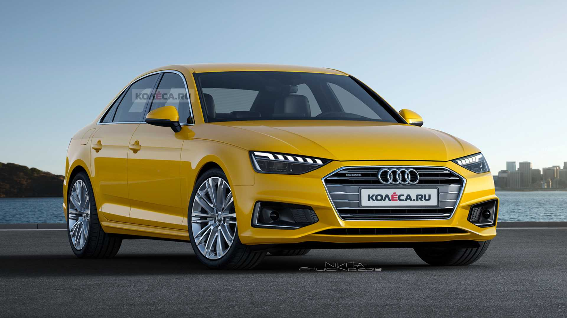 Audi A4 Coupe 2020 Audi A4 Facelift Render Could Pass Off As The Real Deal