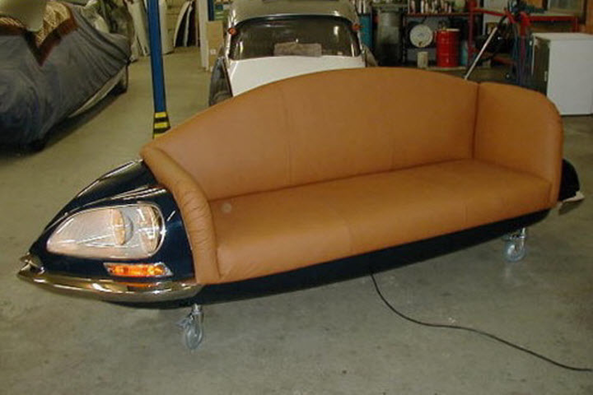 Auto Couch 10 Awesome Diy Ish Automotive Furniture Projects