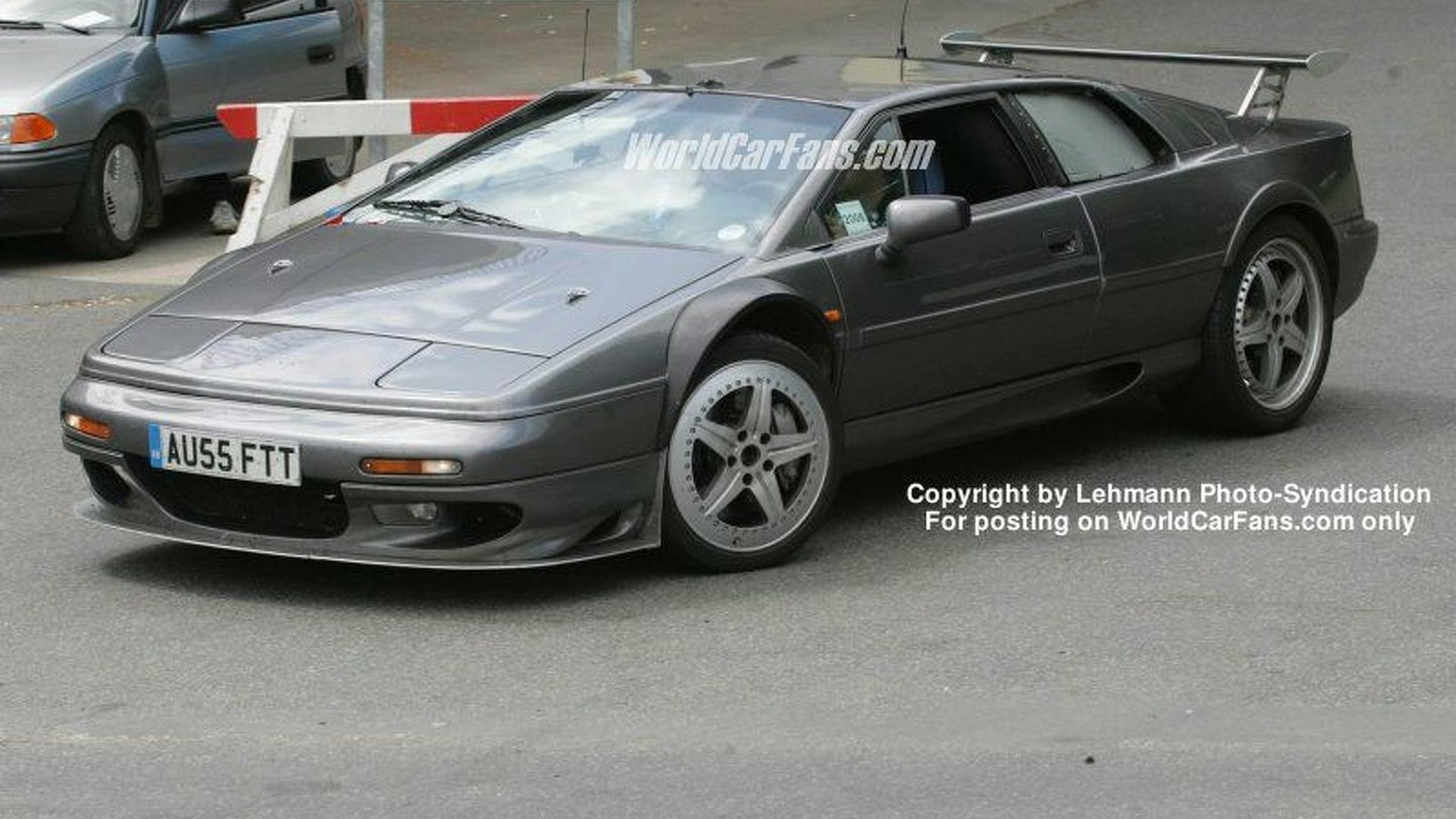 Esprit New Spy Photos New Lotus Esprit With Bmw Power