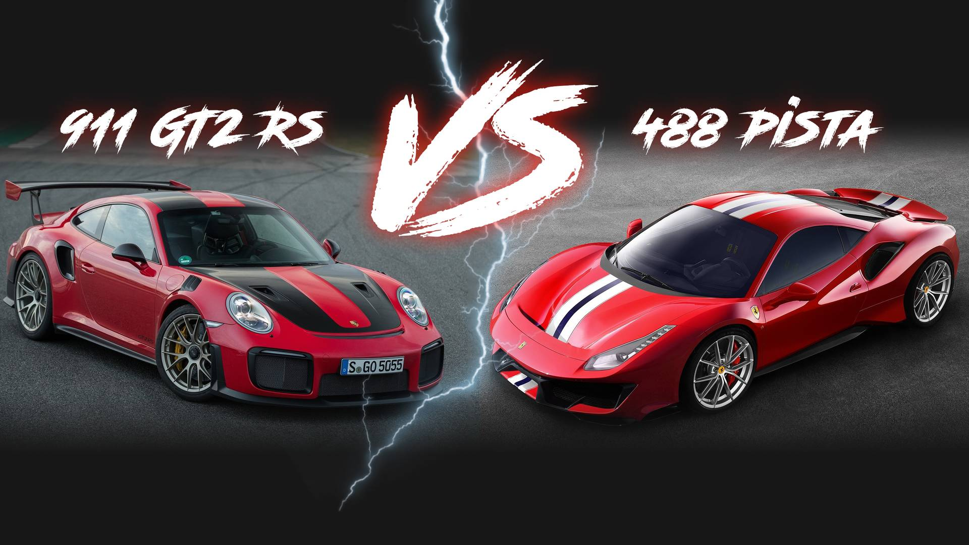 / Vs Ferrari 488 Pista Vs Porsche 911 Gt2 Rs Battle By The Numbers