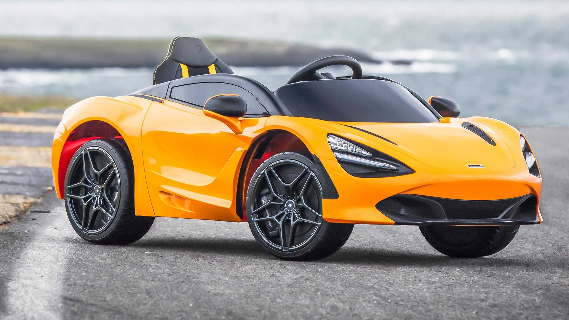 Toddler Car Dashboard Mclaren 720s Debuts New Autonomous Electric Variant For Kids