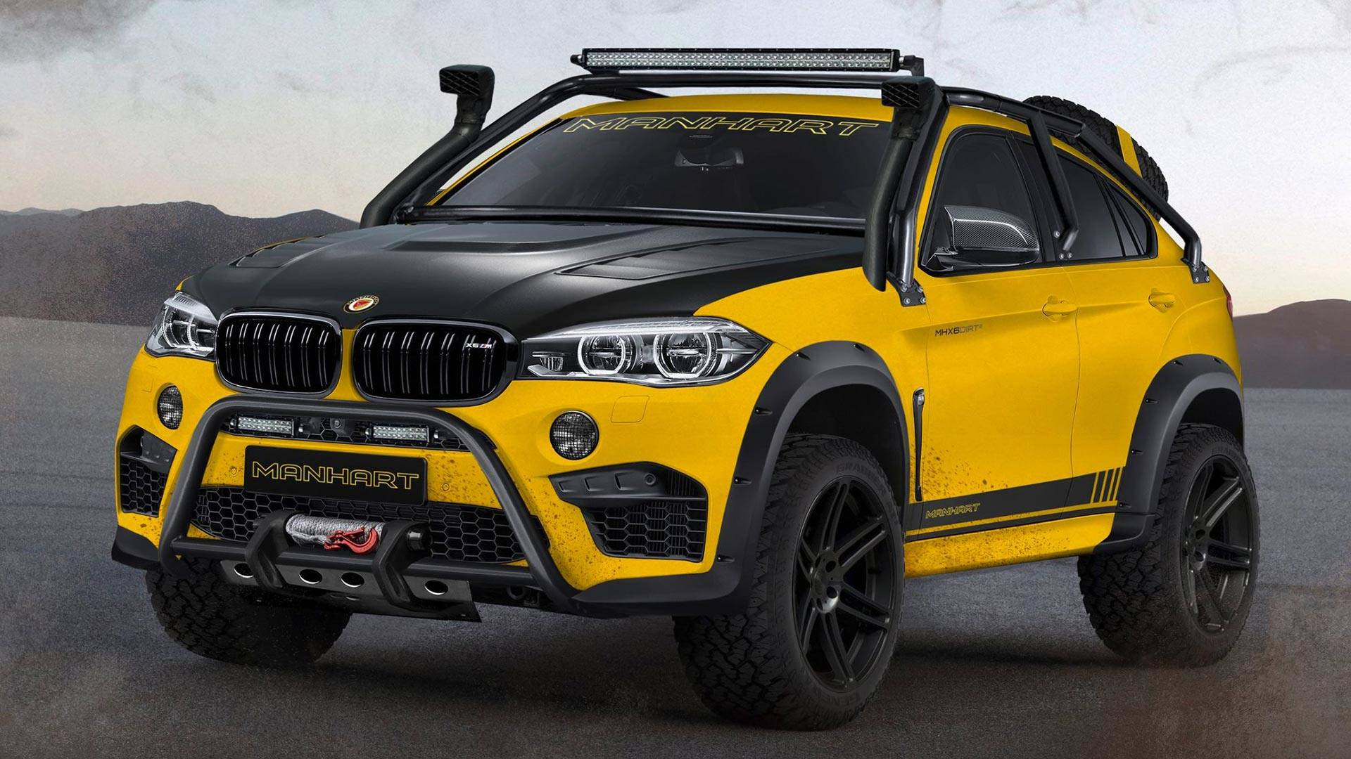 Interieur X6 Bmw Manhart Mhx6 Dirt Is A 888 Hp Bmw X6 M Not Afraid To Get Dirty