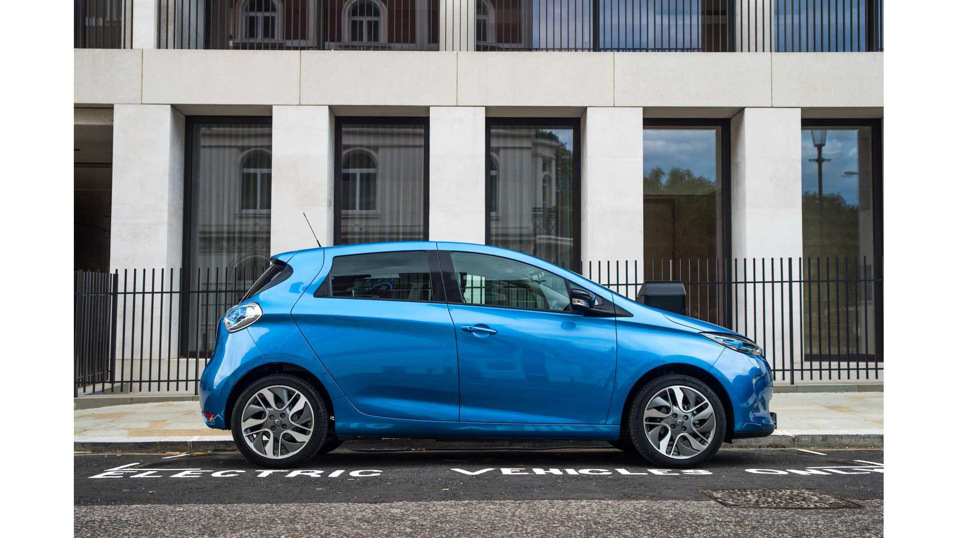 Electric Car Battery Lease New Renault Zoe Priced In Uk Both As Outright Buy Or With