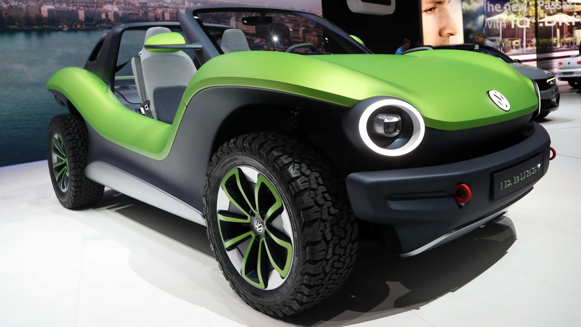 Travel Buggy With Sunroof Volkswagen I D Buggy Concept Shows Its Groovy Style In Geneva