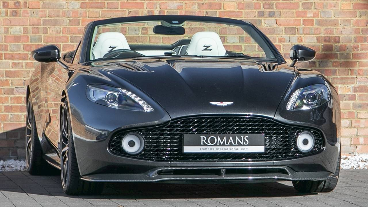 Aston Martin Db9 Vanquish Rare Zagato Aston Is Yours For Lots Of Money
