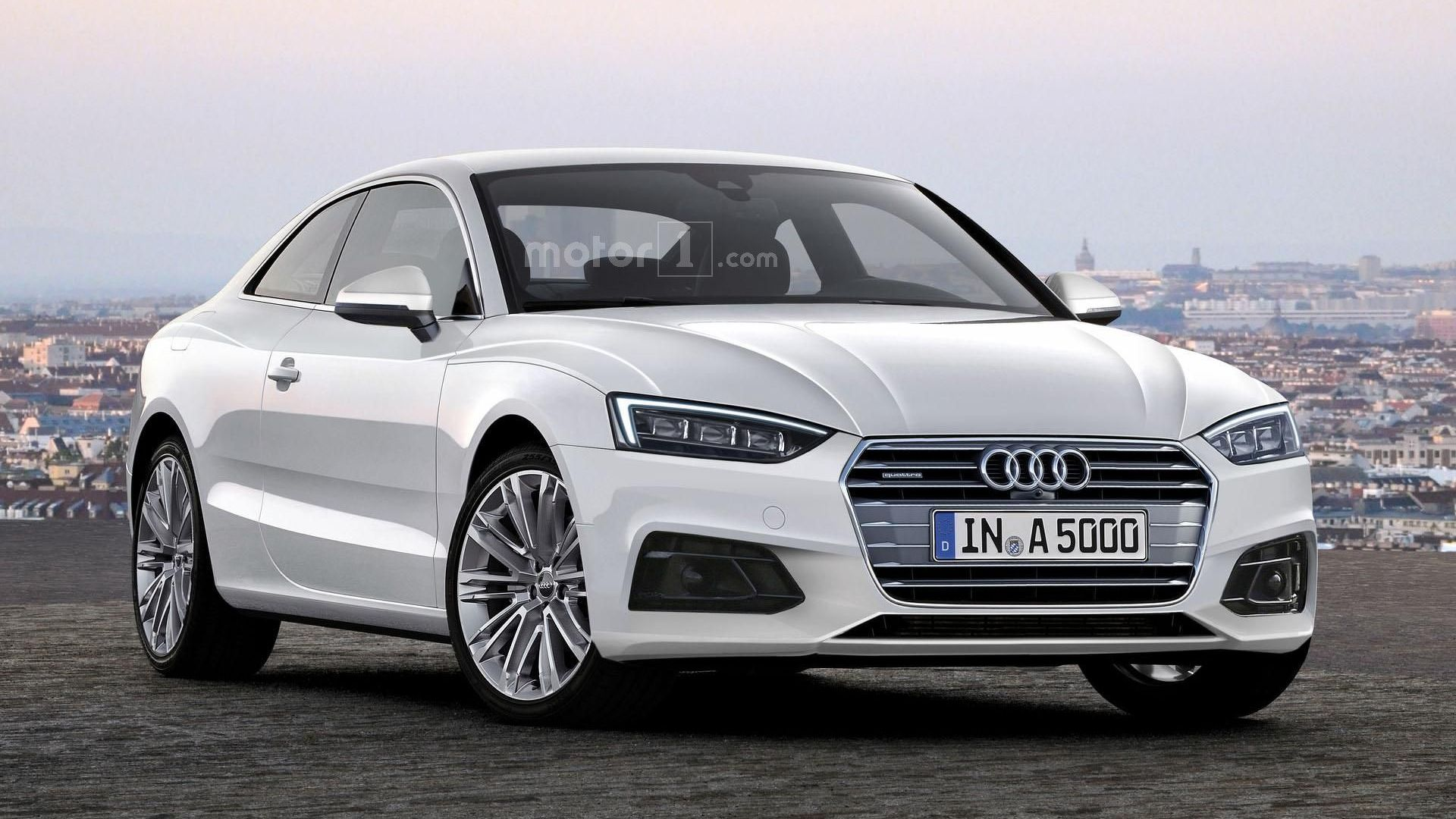 Audi A4 Coupe 2017 Audi A5 Coupe Looks Rather Stylish In New Rendering