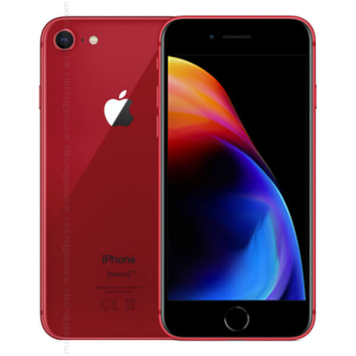 Tiendas De Moviles Libres Apple Iphone 8 En Rojo De 256gb Mrrn2fs A 0190198744746
