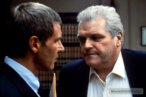 Presumed Innocent - Publicity still of Harrison Ford  Brian Dennehy - movie presumed innocent