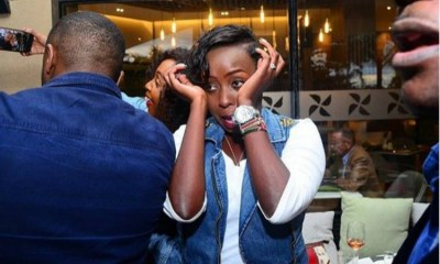Jacque Maribe tells fiancé 'I'll stay with you through the ups and downs'