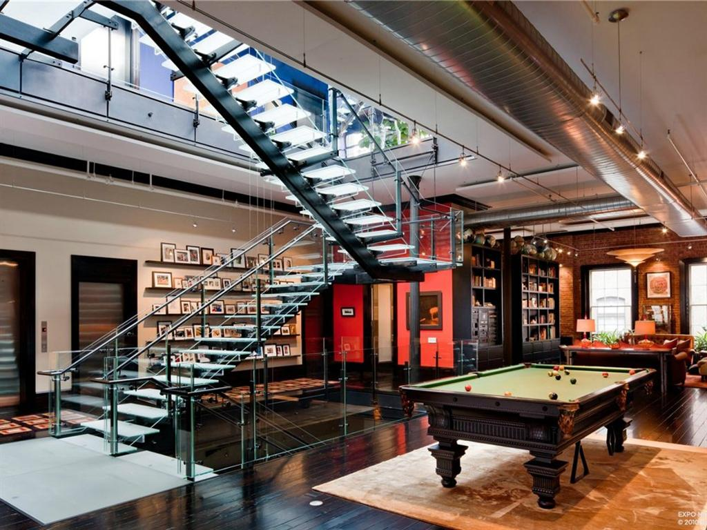 Two Floor Apartment Nyc Das Tribeca Loft Mansion In Nyc Für 49 Millionen Dollar