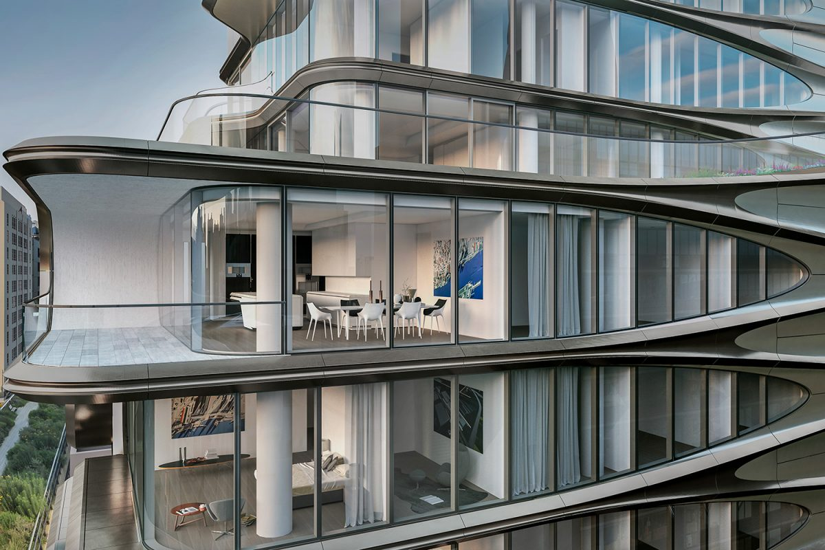 Architektin Zaha Hadid Ein Blick In Zaha Hadids 520 West 28th Street Projekt Mr Goodlife