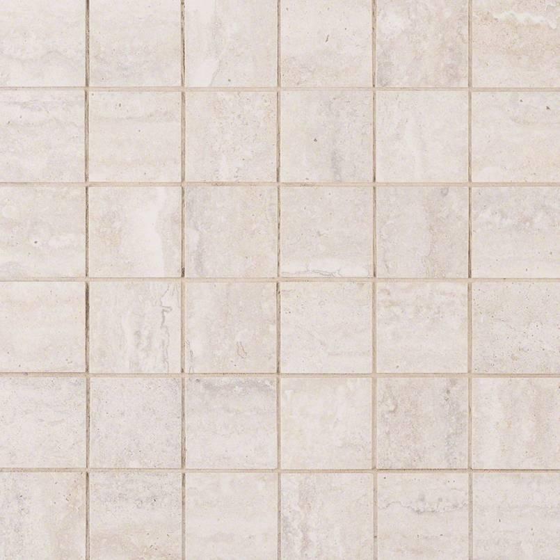 Veneto White 2x2 Porcelain Tile