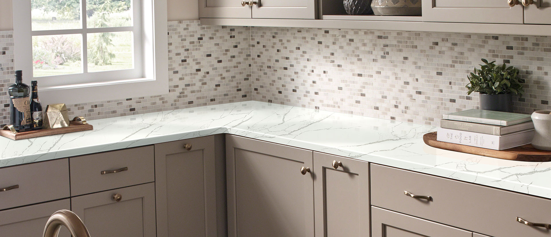 Quartz Countertops Calacatta Laza Calacatta Laza Quartz Countertops Concrete Finish Quartz