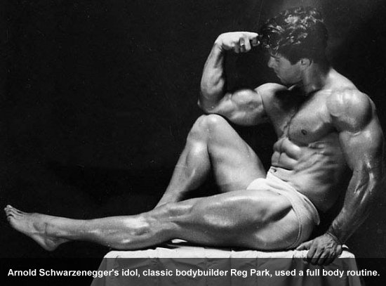 Reg Park Used Full Body Routines