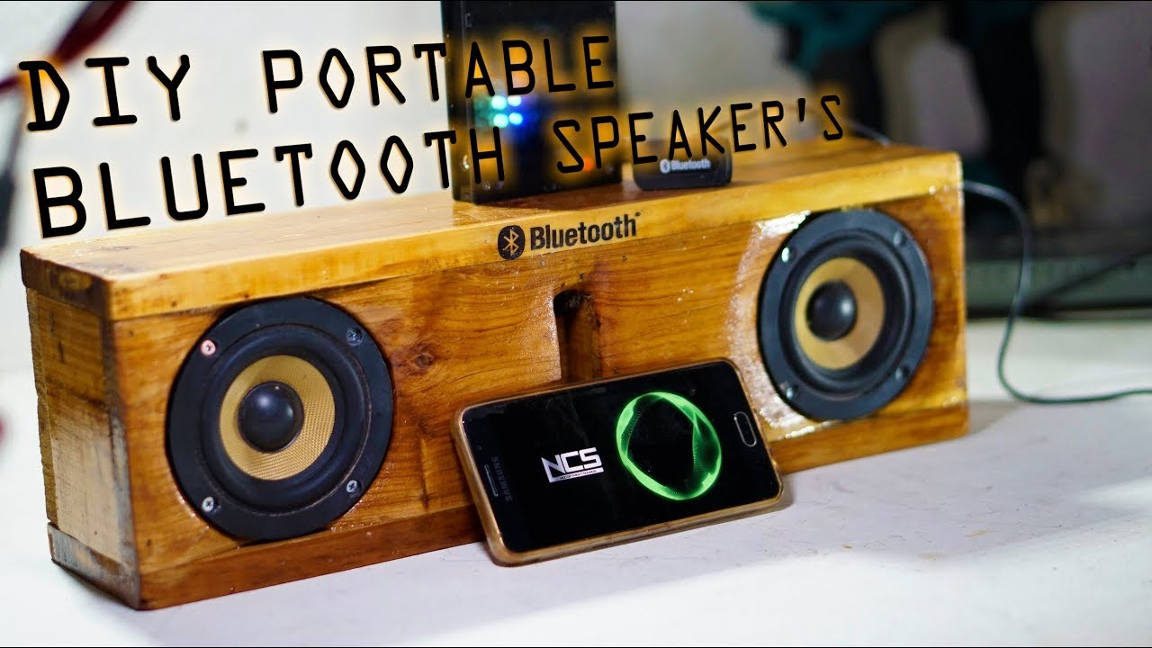Diy Portable Bluetooth Speaker Diy Design Ideas