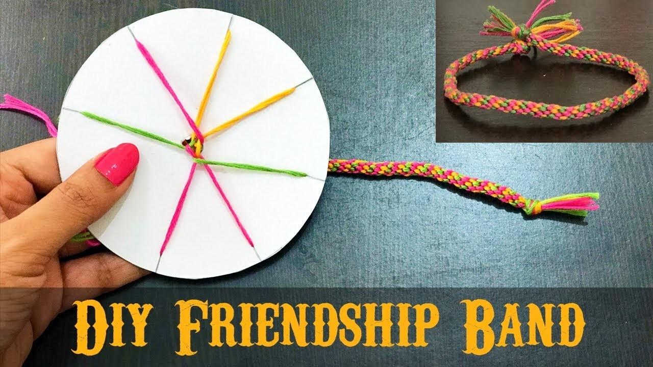 How To Make Friendship Band At Home Diy Friendship Bracelets