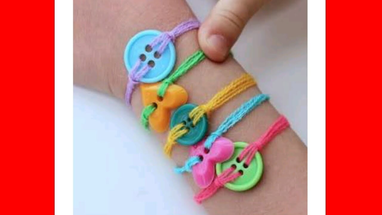 Friendship Band How To Make Friendship Band With Button
