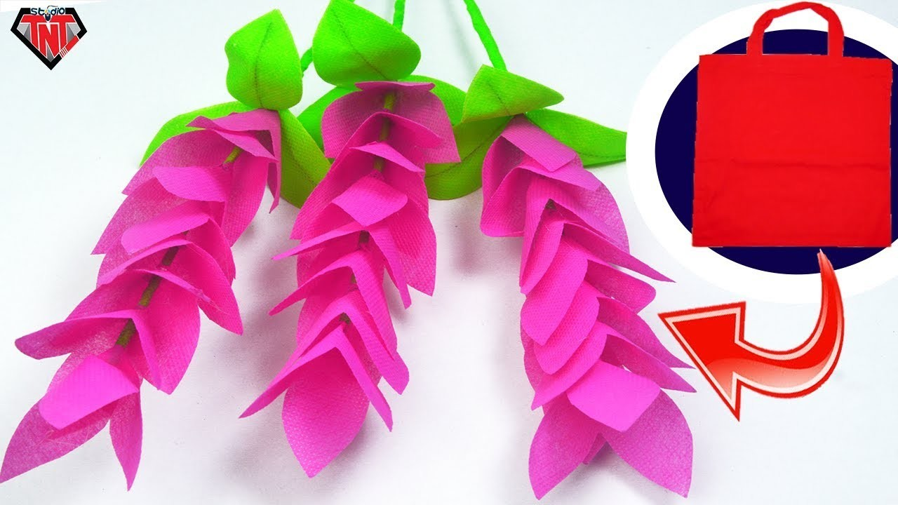 How To Make Shopping Bags Ginger Flower Best Out Of