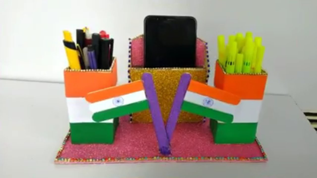 Diy Beautiful Craft For Independence Day For Decorations