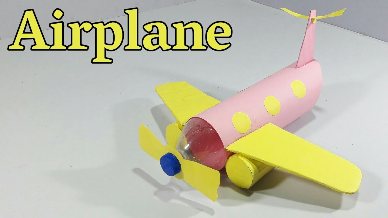 How To Make Aeroplane From Plastic Bottle Best Out Of