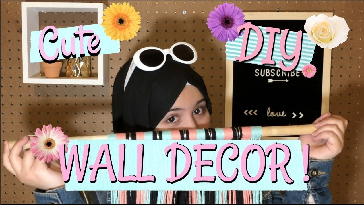 Decor Facile Est Tres Mignon Cute Diy Wall Decor