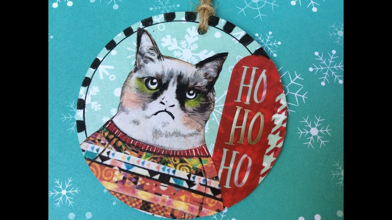 Artist Trading Coins Christmas Style
