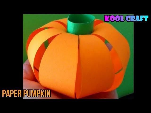 Diy Paper Pumpkin For Halloween 2018 Easy Diy