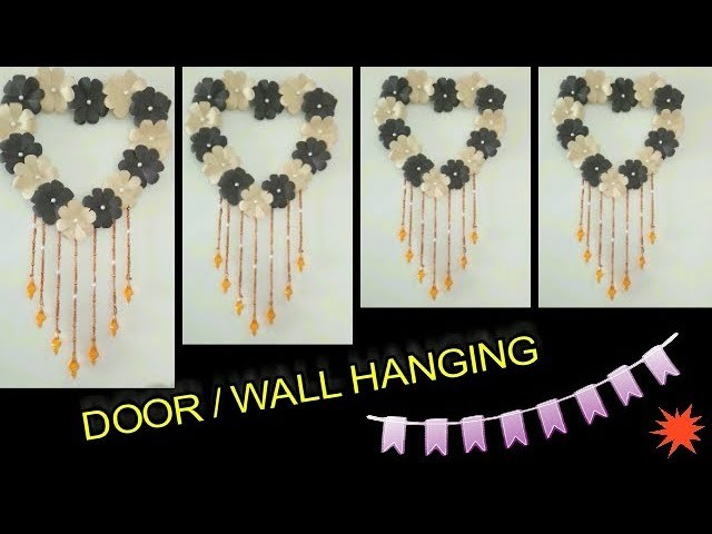 How To Make Heart Wall Hanging Door Hanging Craft Art