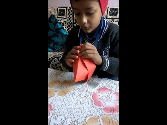 How To Make A Paper Boat Origami