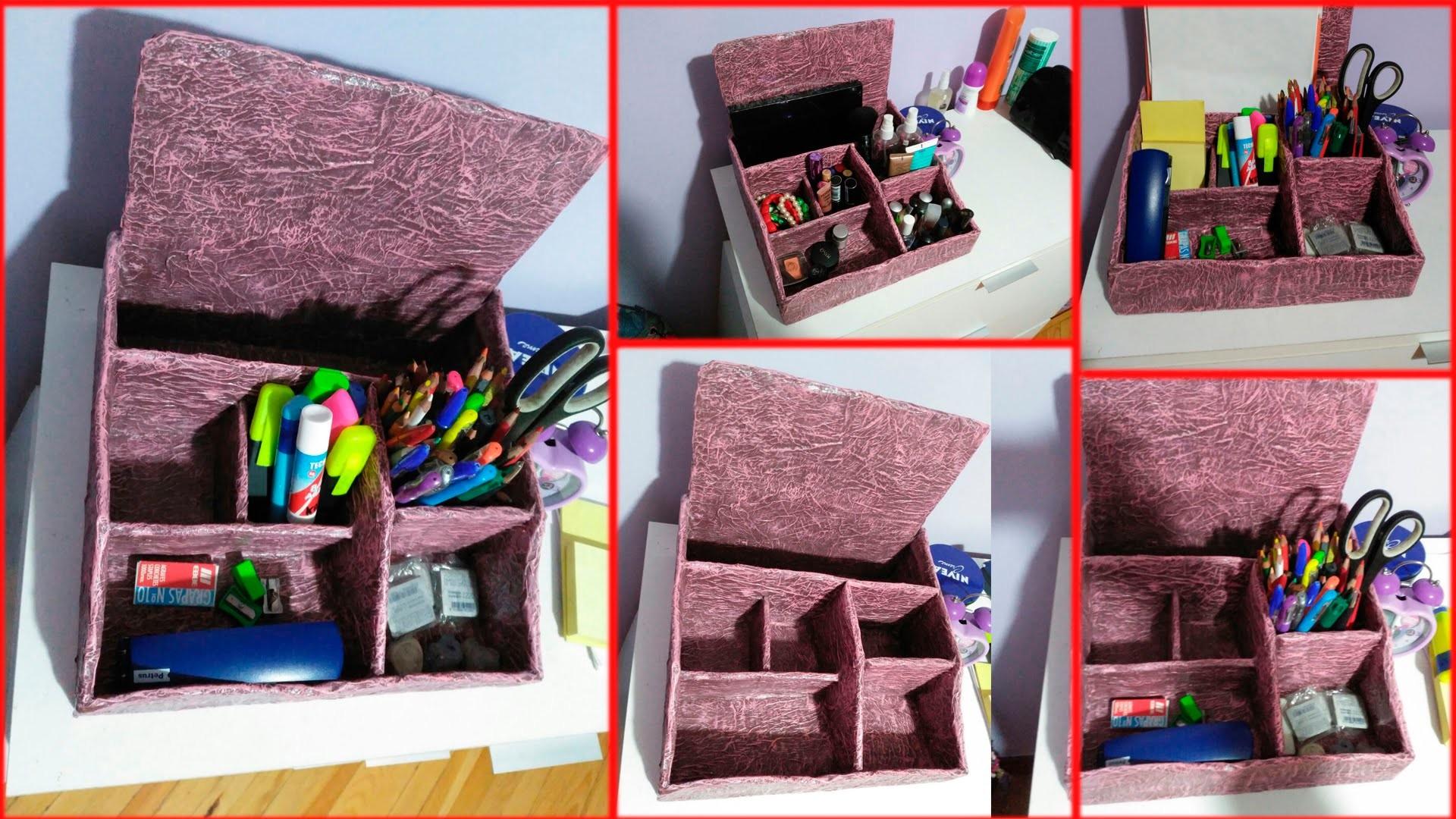 Organizador Carton Y Papel Cardboard Paper Organizer