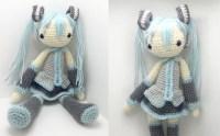 Hatsune Miku Amigurumi Crochet Tutorial Part 1