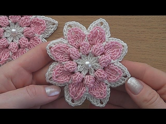 Abc Baby Blanket Crochet Pattern Crochet Flower Tutorial Very Easy