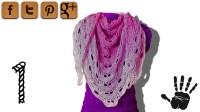 Virus shawl crochet tutorial part 1 - Woolpedia