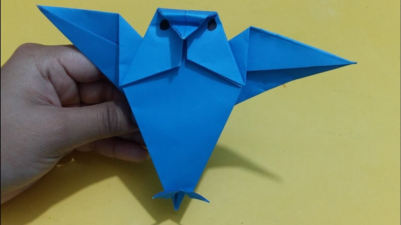 Simple And Funny Bird Paper Craft Origami Tutorial