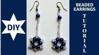 DIY beaded earrings tutorial. How to make earrings with ...