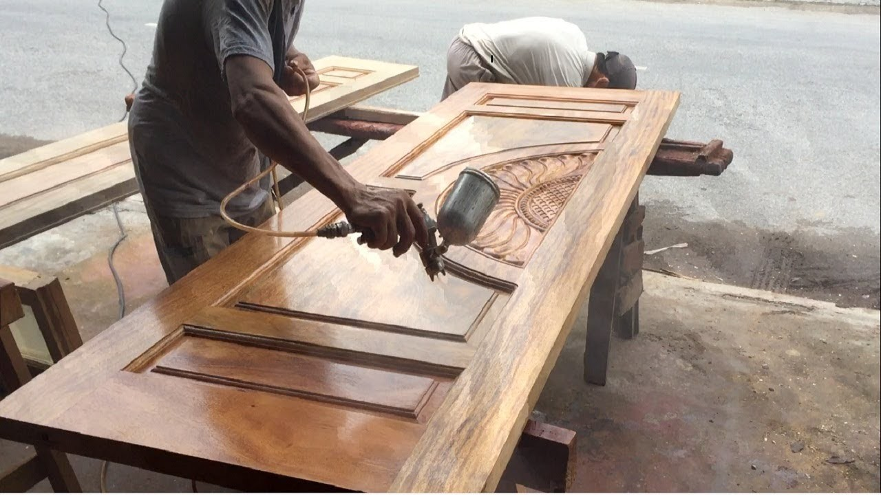 Best Teak Furniture Shop In Chennai How To Polishing And Paint A Big Wooden Door