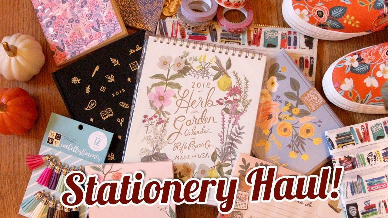 Stationery Haul Rifle Paper Co Kate Spade Target