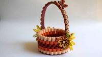 Quilled Basket Part 1: Paper Basket. Quilling Basket ...