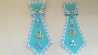 Baby Shower Cardstock Father To Be Tie
