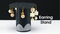 Handmade Earring Stand Make Earring Organizer, DIY Earring ...