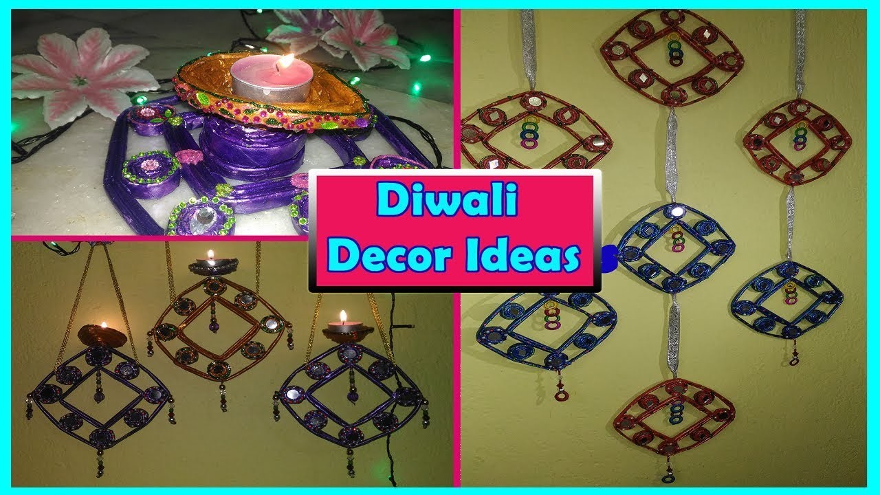 Interior Decoration With Waste Material Diwali Decoration Ideas From Waste Material Flisol Home