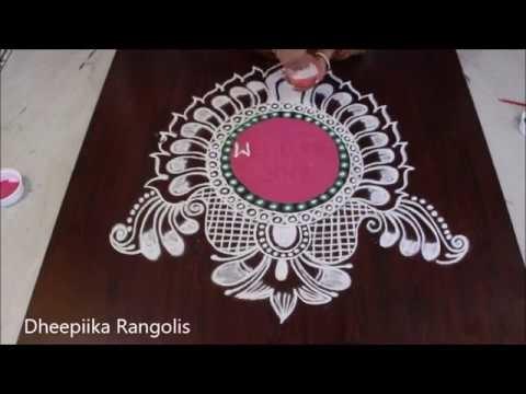 New year special rangoli design II happy new year rangoli 2018