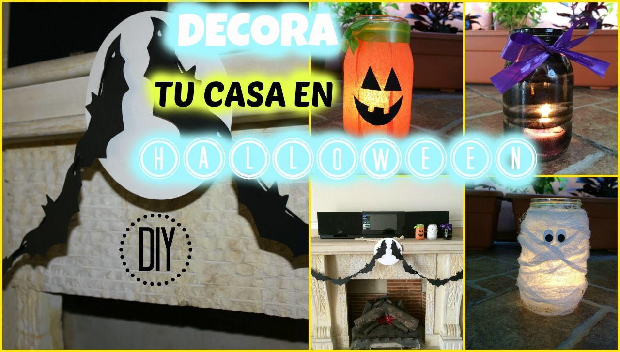 Ideas Para Decorar Halloween Diy IncreÍbles Ideas Para Decorar Tu Casa En Halloween FÁcil