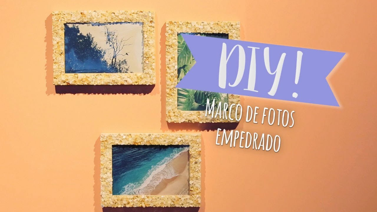 Decorar Marcos De Fotos Diy Westwing Cómo Decorar Marcos De Fotos Con Piedras De Colores