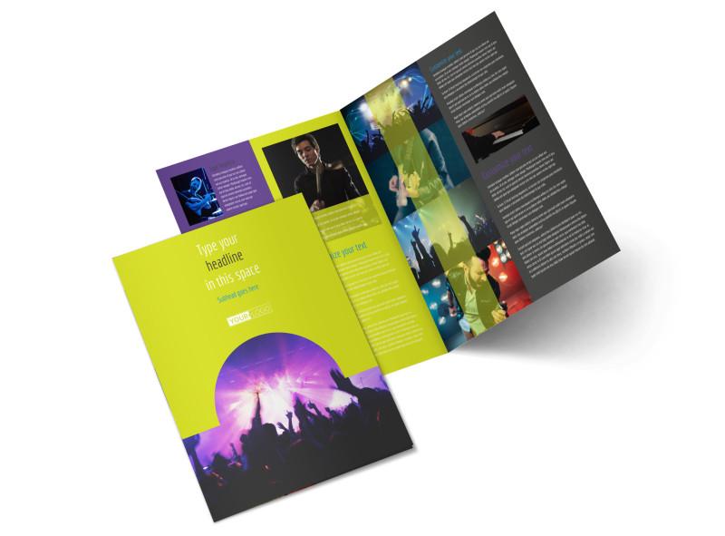 Christian Music Concert Brochure Template MyCreativeShop