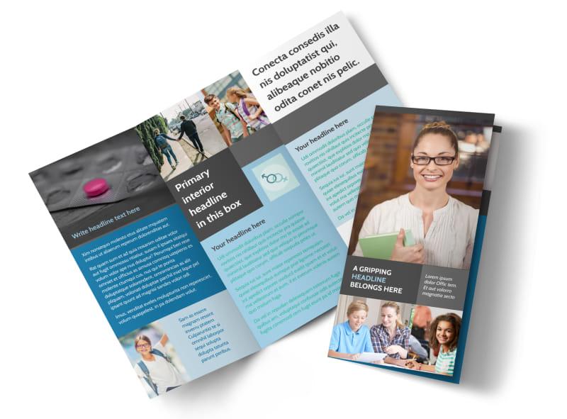 Sex Education Brochure Template MyCreativeShop