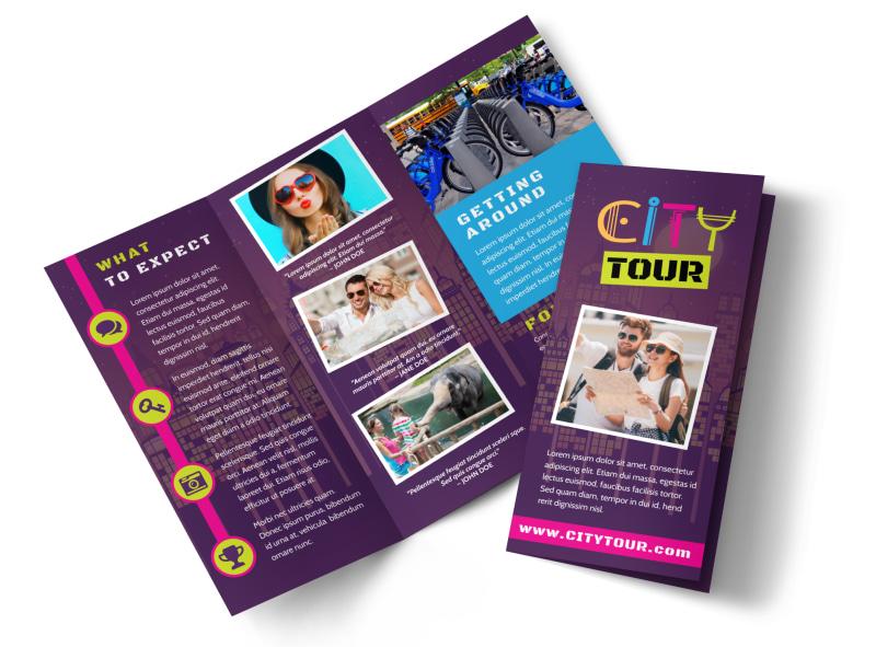 City Tour Brochure Template MyCreativeShop