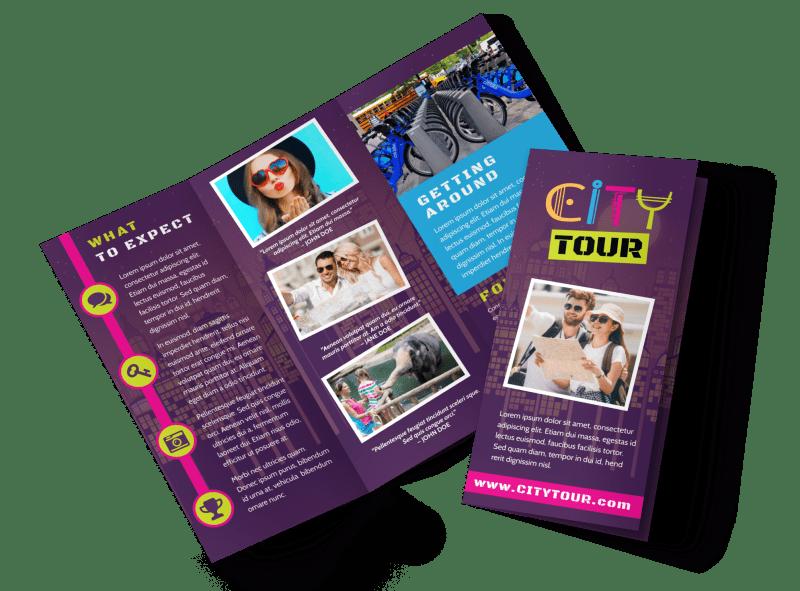 tour brochure template